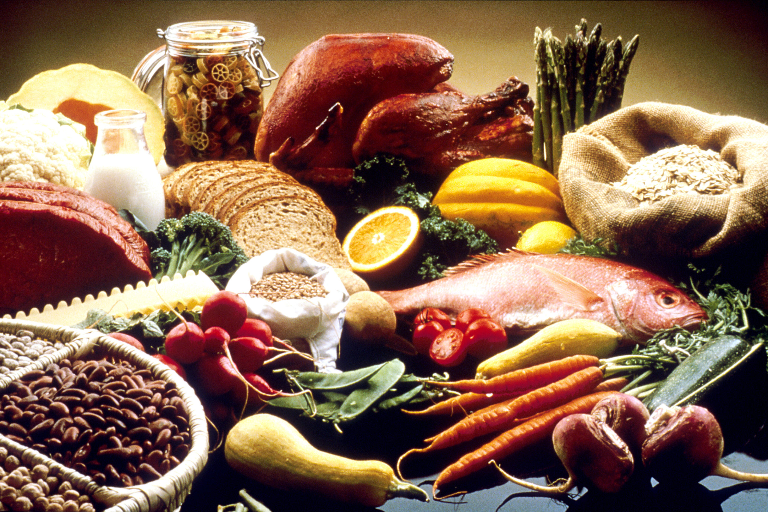 Good Food Display NCI Visuals Online
