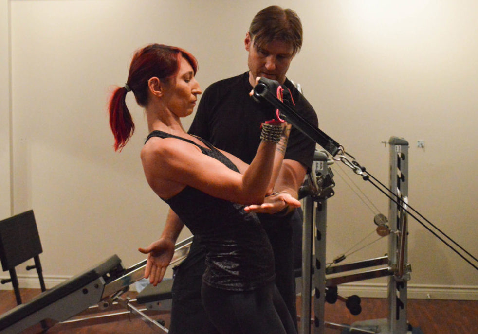 One-on-One Personal Training Beginner Workout Vancouver Troy and his clients.
