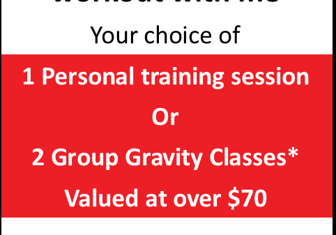 Ready for Next Level Personal Training? Enjoy a complimentary workout with me.