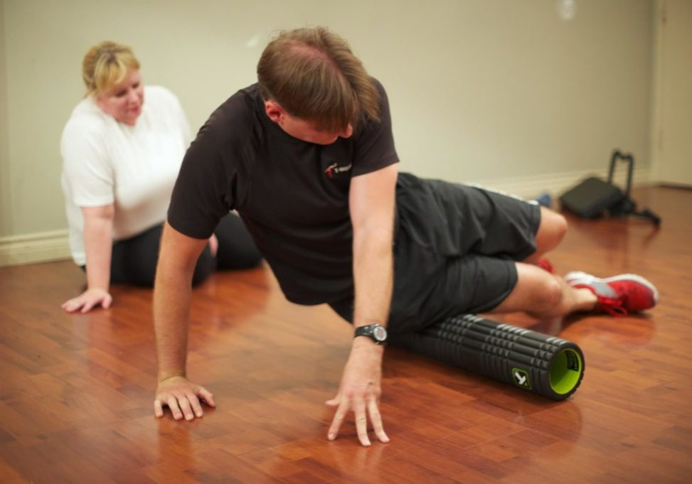 Troy Tyrell as rehab personal trainer in Gastown Vancouver