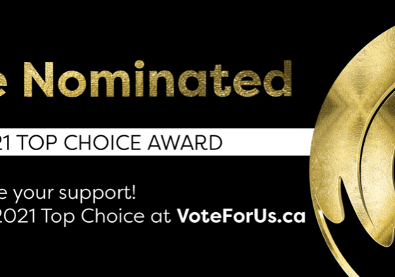 TSQUARED PERSONAL TRAINING is proud to announce that we are a 2021 Top Choice Award Nominee! Now, we need your help to WIN! Voting is now open.